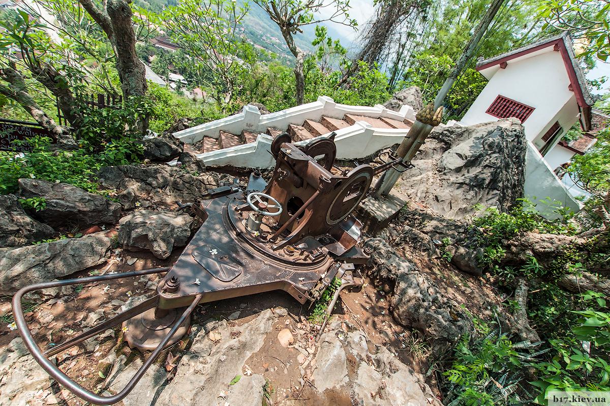 Фрагменты Луангпрабанга в Лаосе