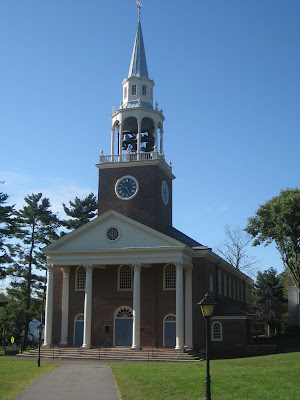 Seymour St. John Chapel on the campus of Choate Rosemary Hall in Wallingford, CT - Photo by Michelle Judd, CRH '98