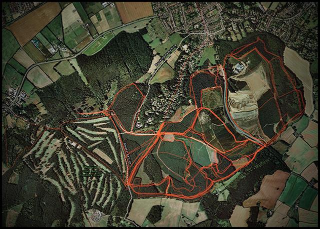 Well trodden paths Woburn_trails