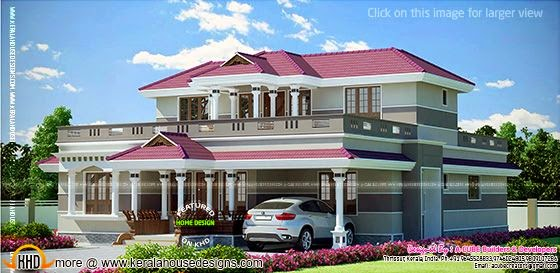 Grand Kerala home design