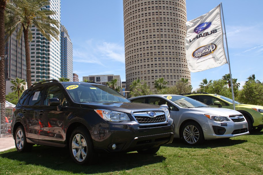 #ARunnersDrive with Reeves and the Subaru Forester