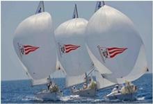 J/24s sailing Monaco Match Race Regatta- Monte Carlo