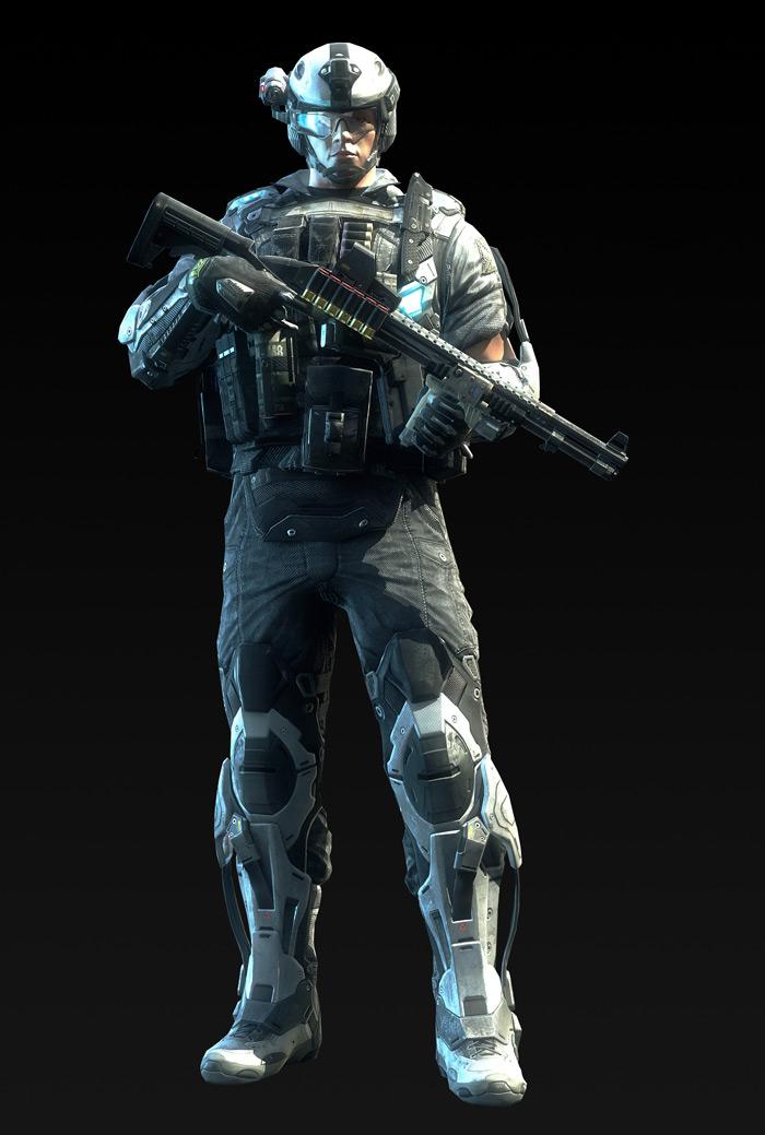 Tạo hình nhân vật trong Metro Conflict - Ảnh 5