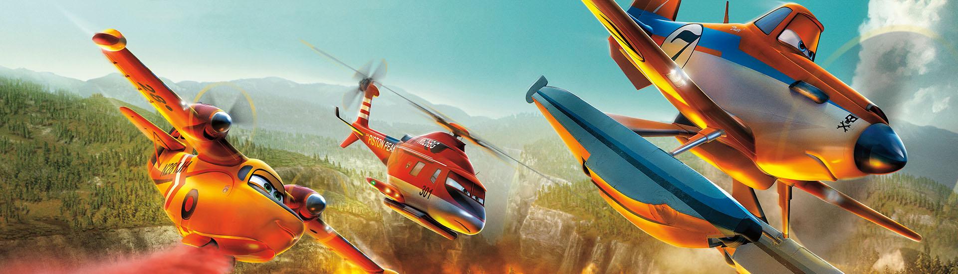 Baner filmu 'Samoloty 2'