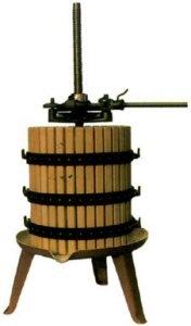 ΣΤΑΦΥΛΟΠΙΕΣΤΗΡΙΟ ΣΤΡΟΦΙΛΙΑ ΠΑΤΗΤΗΡΙ Ξύλινο πατητήρι σταφυλιών (πρέσα οίνου για τη σύνθλιψη σταφυλιών & στεμφύλων, πιεστήριο σταφυλιών & στεμφύλων) για παραγωγή κρασιού BCM χειροκίνητο