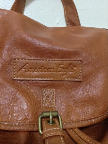 Payless American Eagle Elza Backpack. Fall Fashion Brown Backpack Thrifty  City Chic aa2a2465f2973