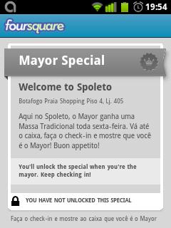 Exemplo de Special