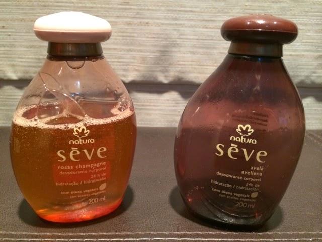 Natura, Seve, desodorante corporal, hidratação, óleos vegetais, 24h, óleo