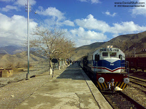 Koolpur Railway station is situated in District Bolan, Balochistan. It was a beautiful morning, Natural light was making the clouds and the mountains more beautiful.
