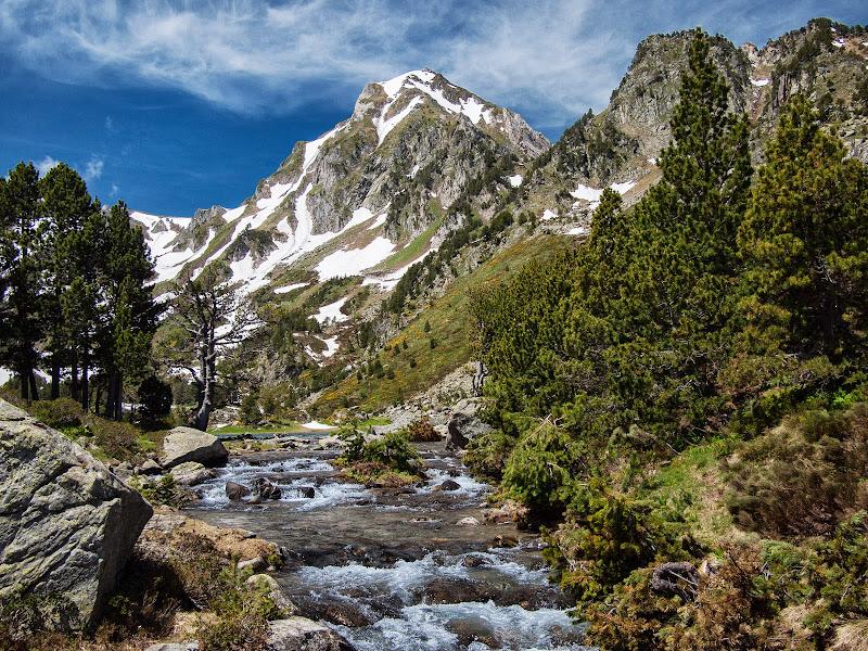 Roc Blanc i riu de Laurentí