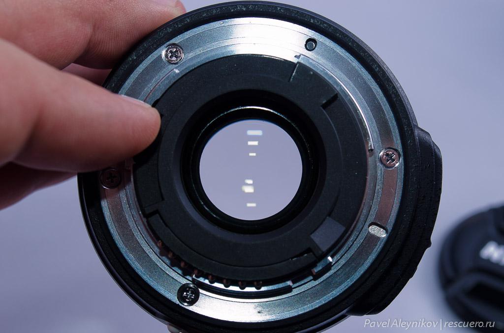 Линзы AF-S DX Micro Nikkor 40mm f/2.8G