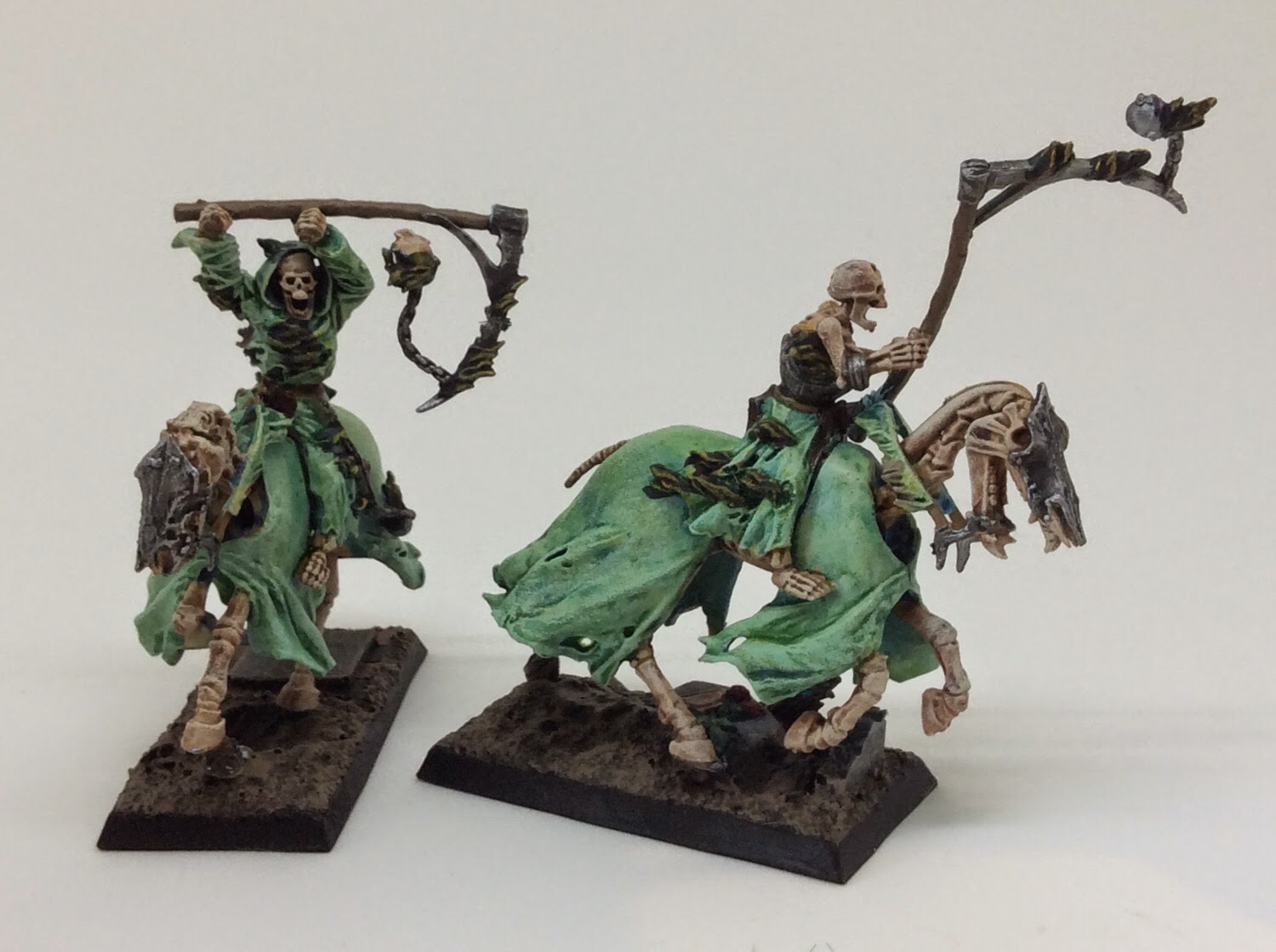 Looking To Try And Get An Ethereal Look With Them Bases Are From Iron Halo