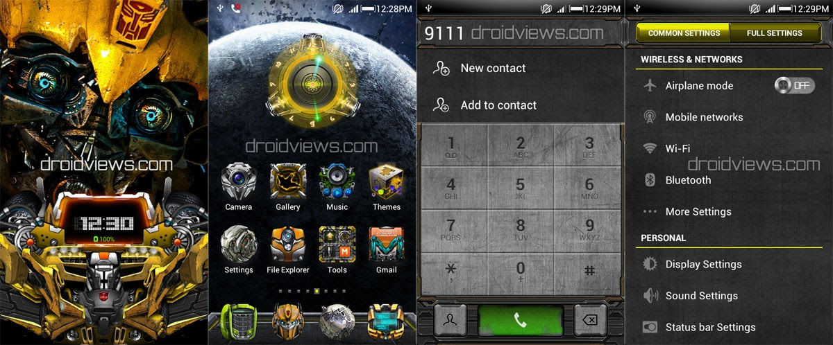 Transformers Theme for MIUI V4 (Update) | DroidViews