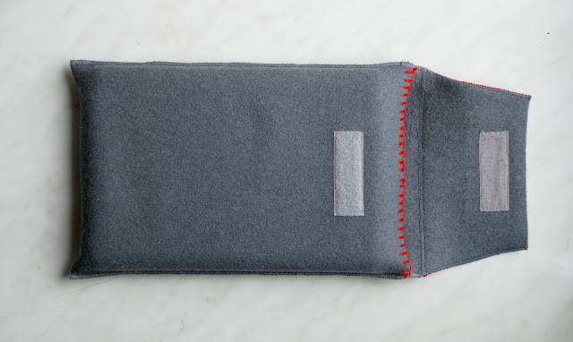 DIY Wool iPad Sleeve