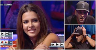 Miss Finlândia Faz O Bluff Mais Bonito De Sempre E Envergonha Profissional De Poker