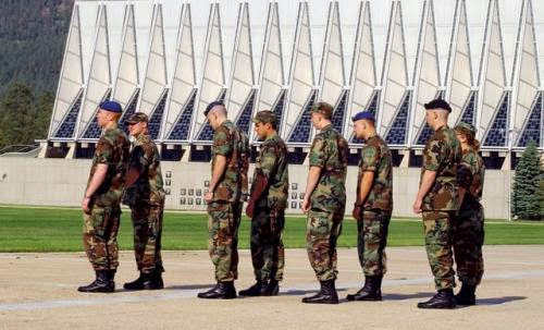Air Force Academy Offers Men And Masculinity Class