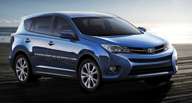 2013 Toyota RAV4 Compact Crossover  We Take A Look Into The Crystal