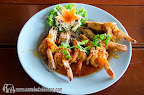 Fried Tiger Prawn with chill sauce