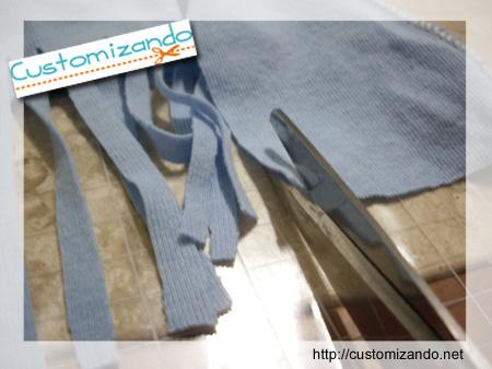Como fazer lenço com camiseta