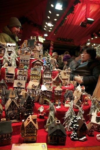 クリスマスマーケットで売っていた置物