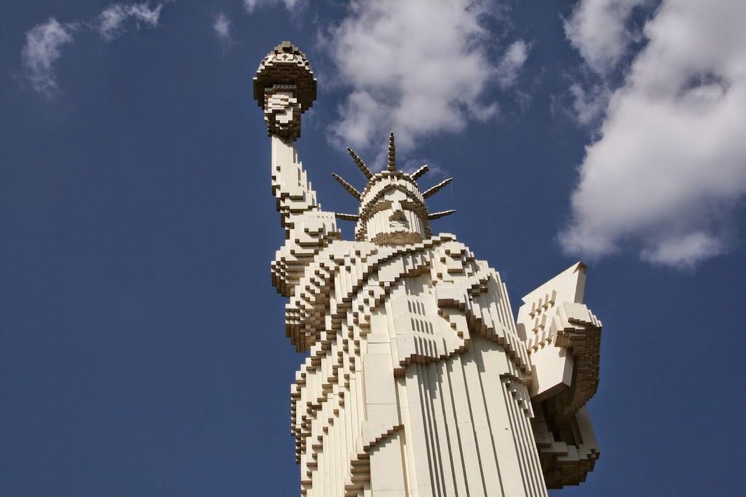 Legoland statue de la Liberté