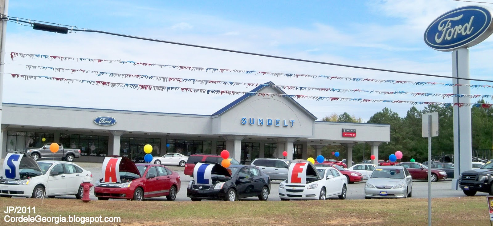 Sunbelt ford cordele georgia sunbelt ford lincoln mercury automobile car dealership cordele ga