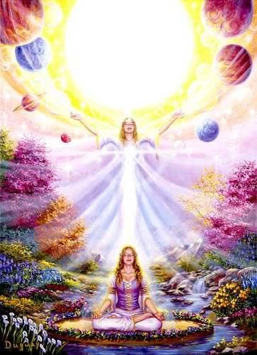 Resultado de imagem para O PODER DA ORAÇÃO - Oração das 7 Direções Galácticas - Abrindo os Canais da Prosperidade