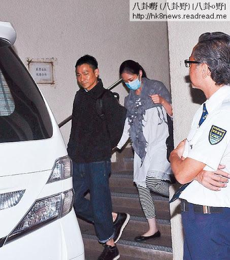 BB仍未出世時,劉華經常陪住老婆去檢查,好錫老婆。