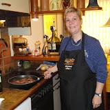 Jagdhof`s Gäste kochen mit der Jagdhofkochschürze