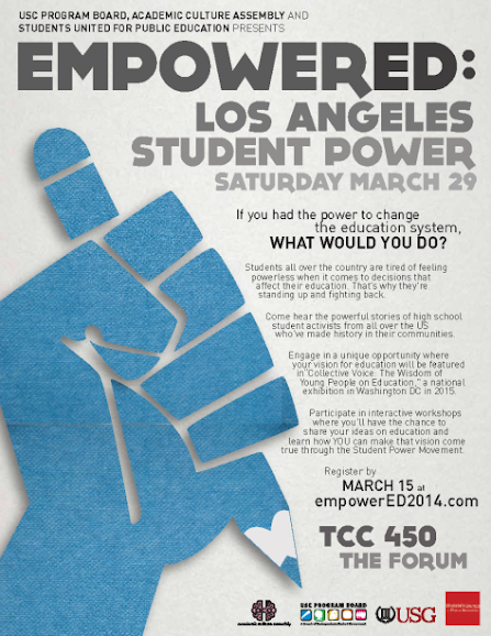 EmpowerED: Los Angeles Student Power 2014 conference