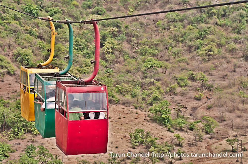 Ropeway Trolleys Saputara Hill Station Gujarat, Tarun Chandel Photoblog