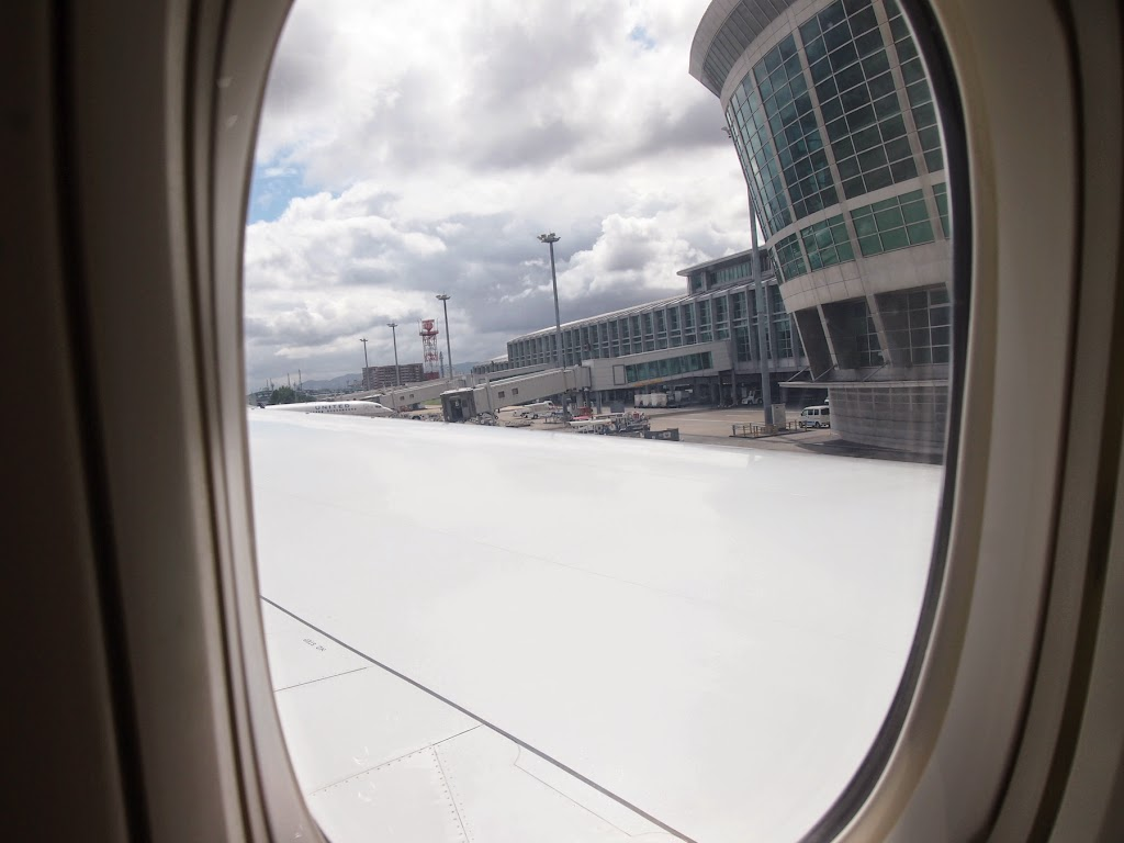 【福岡→仁川国際空港】アシアナ航空の機内食
