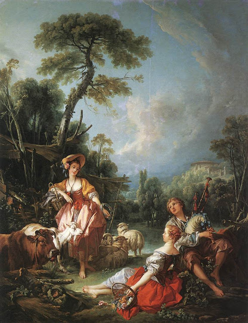 Francois Boucher - A Summer Pastoral