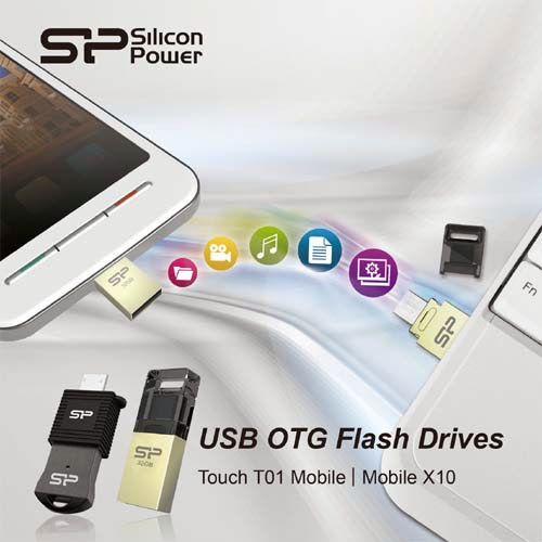 Silicon Power - Mobile X10 and Touch T01 Mobile