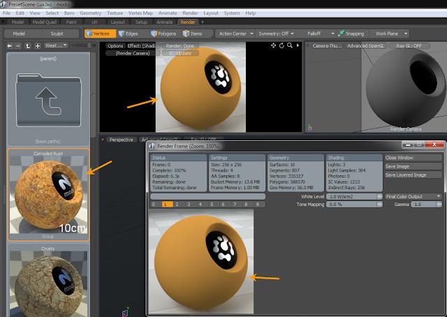 การแก้ปัญหา Material ที่ดาวน์โหลดมาแล้วแสดงผลไม่เหมือนภาพตัวอย่าง Modomat06