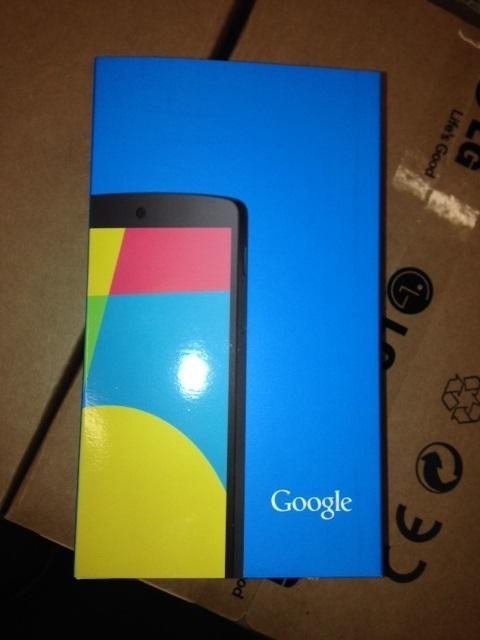Nexus 5 Karton