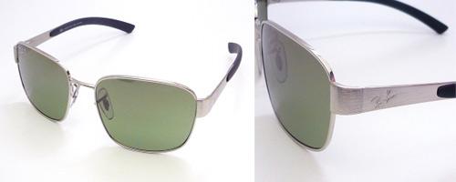 rb3430  喙佮抚喙堗笝喔佮副喔權箒喔斷笖 Ray Ban Sunglasses - RB3430 003/M4 - Silver Unisex ...