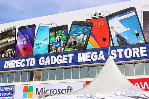 perasmian pembukaan directd gadget mega store