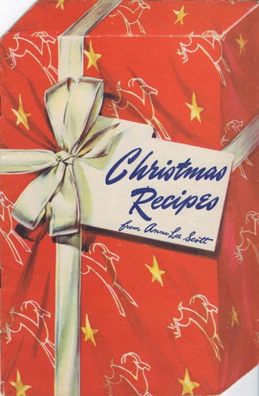 Christmas Recipes die-cut