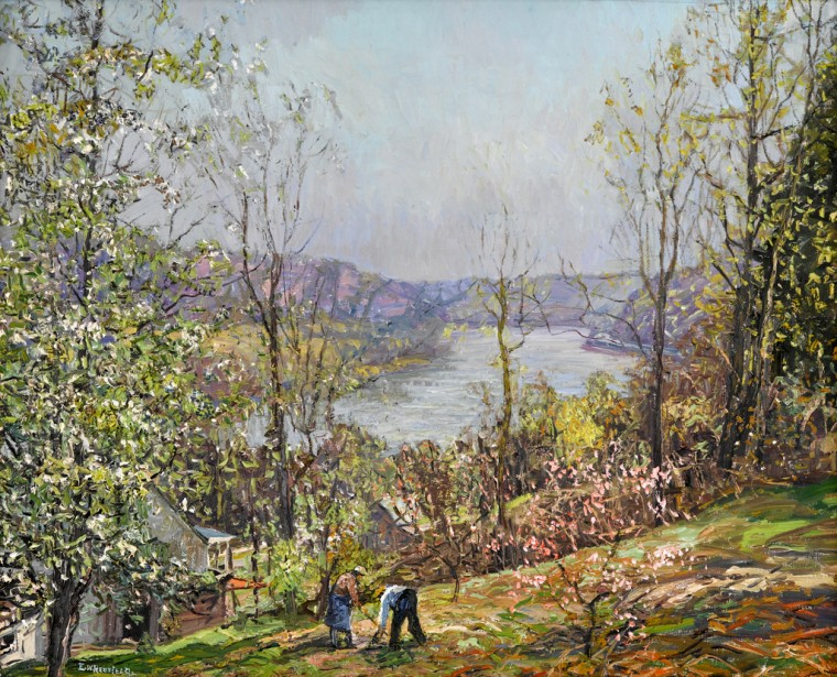 Edward Redfield - Spring