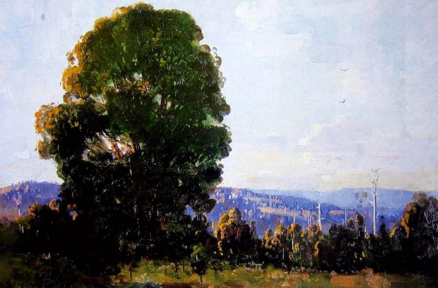 Arthur Streeton - Mount Dandenong