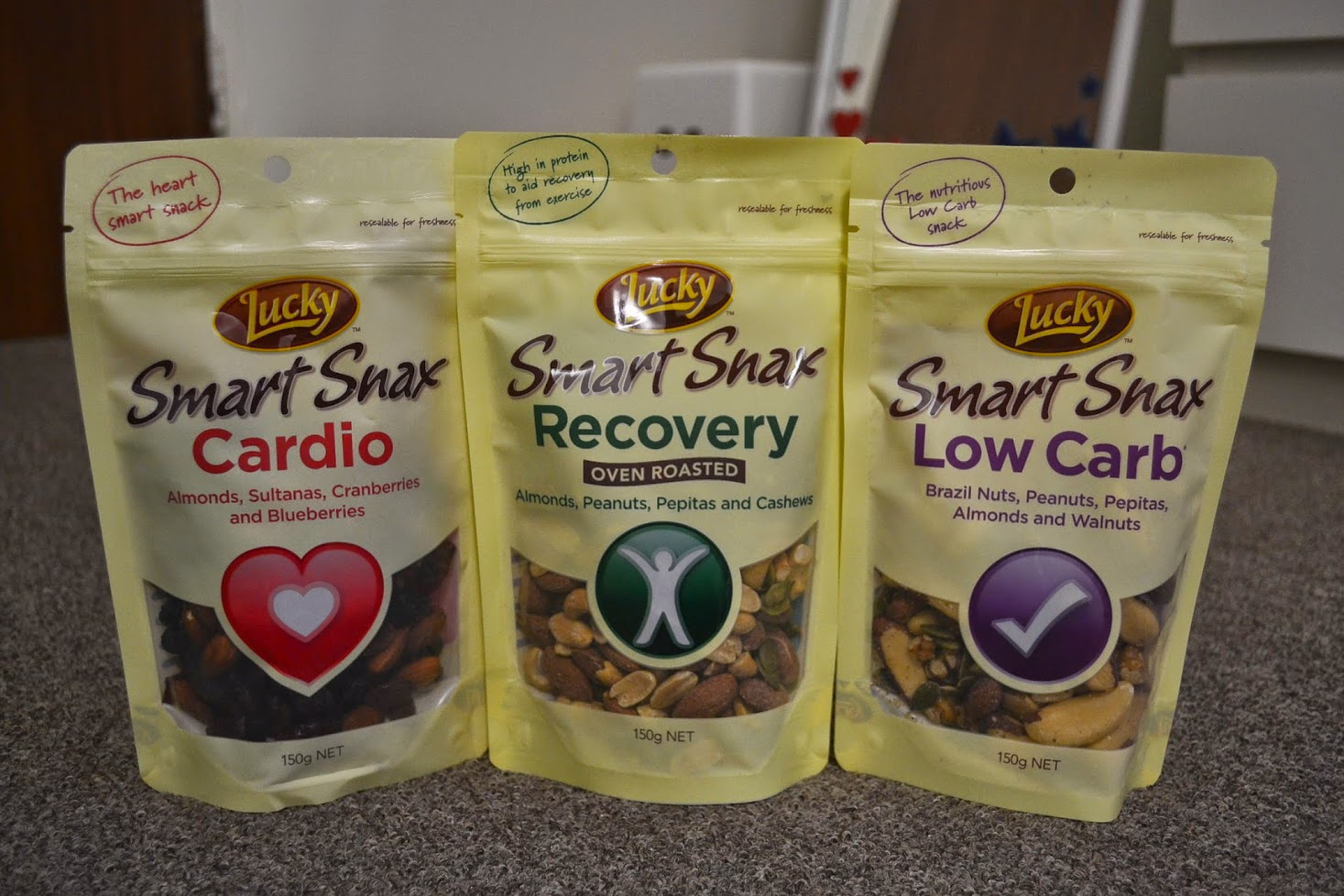 Lucky Smart Snax - Cardio, Recovery and Low Carb