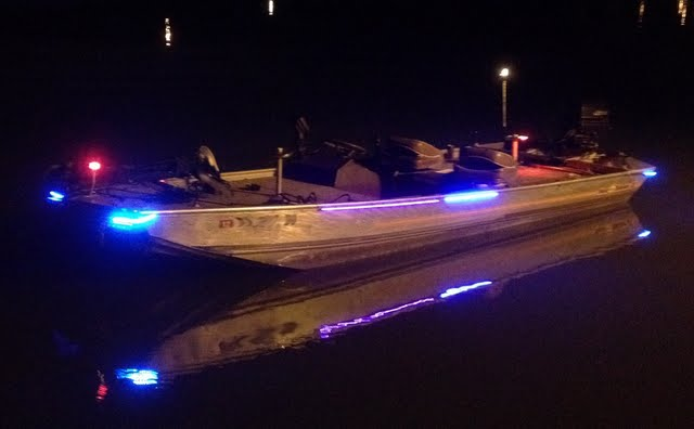 led fishing boat lights long post