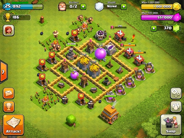 how to make a level 5 town hall home village