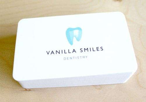 Vanilla smiles business card