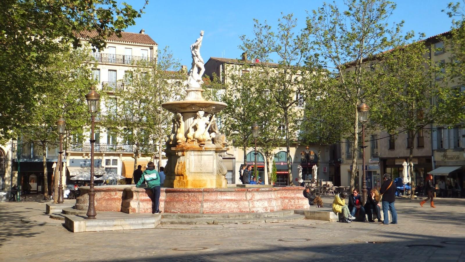 Carcasona, Francia, Carcassonne, blog de viajes, Elisa N, Argentina, Canal de Midi, Canal del Mediodía, Place Carnot