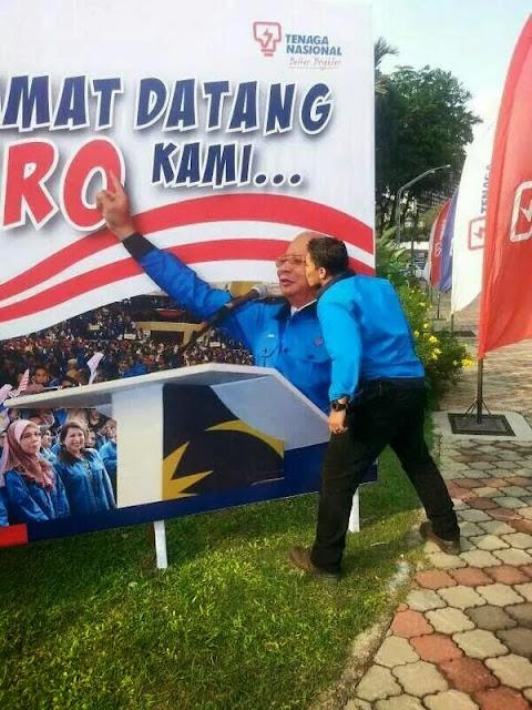 Pekerja TNB Cium Gambar Hero Malaya?