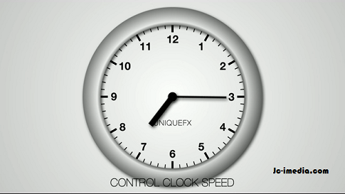 After Effect Project Expression Clock