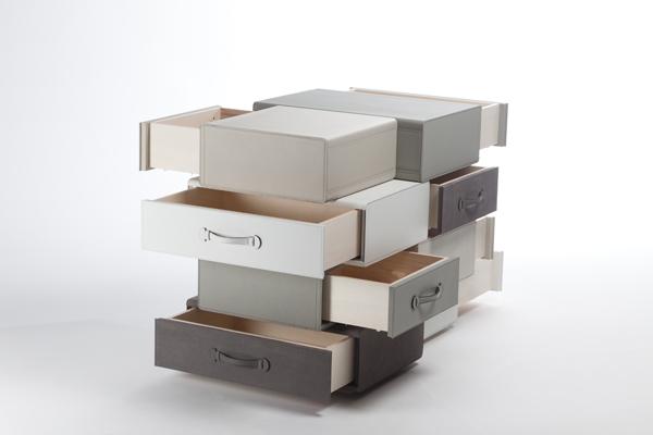 *皮革手提行李箱組合櫃:設計師Maarten de ceulaer探索世界旅行熱情! 8