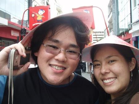 Eu e Miki no Ano Novo Chinês